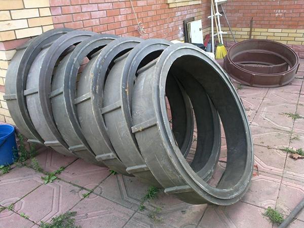 полимерные кольца для колодца