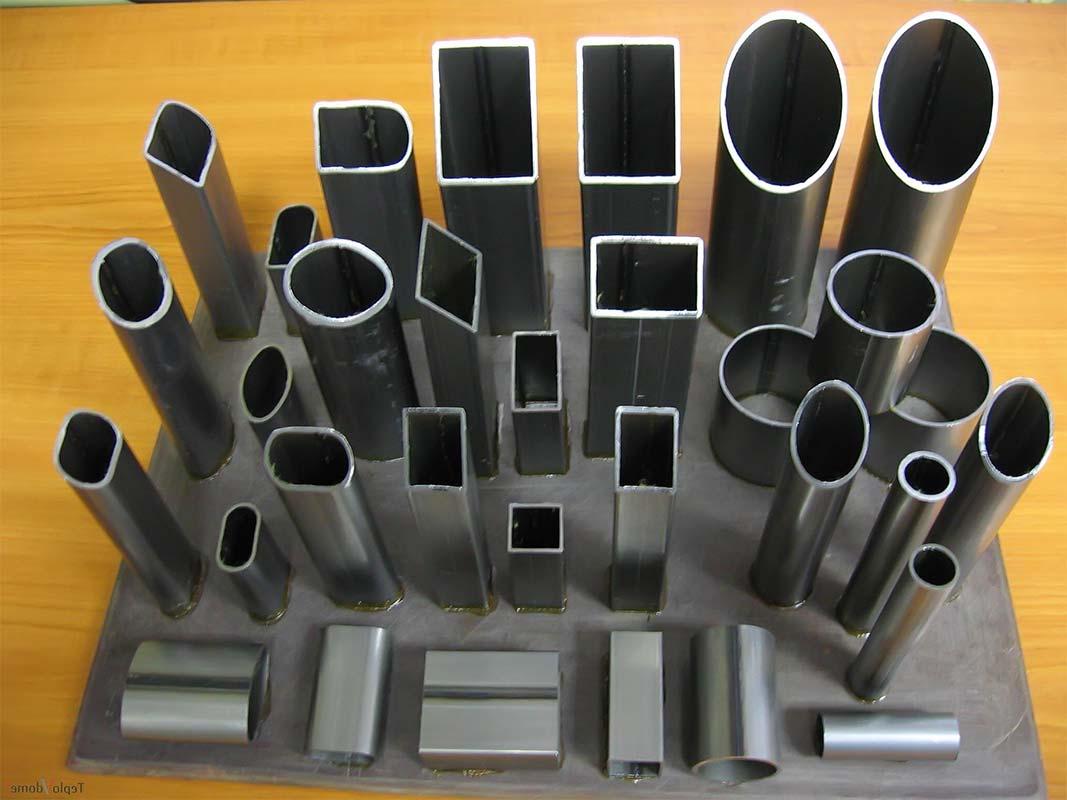 Стальные трубы разновидности и формы