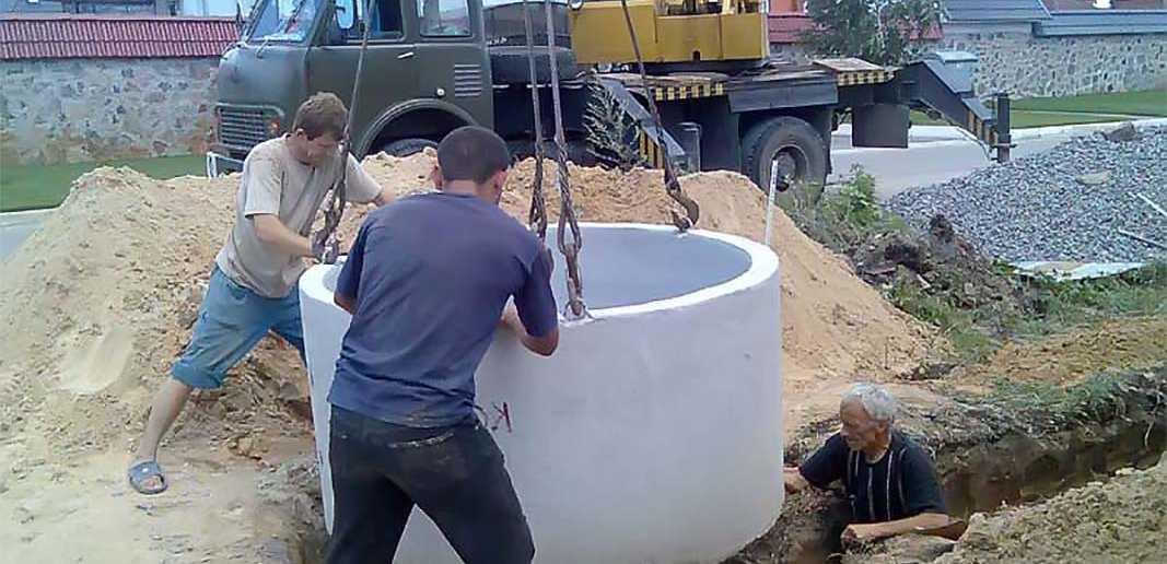 Строим бетонные колодцы своими руками