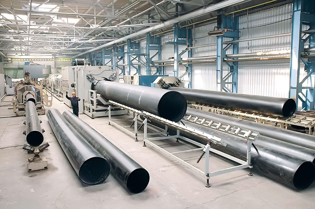 Производство полиэтиленовых труб