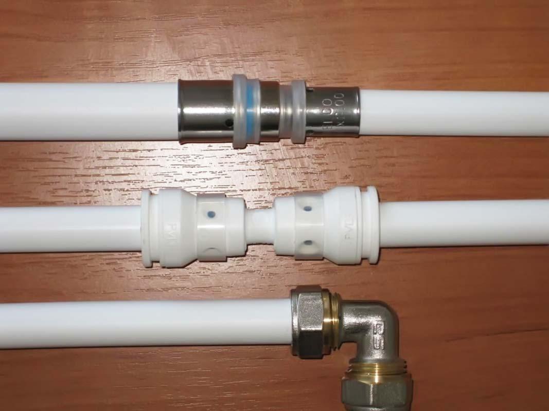 Металлопластиковые трубы правильный монтаж