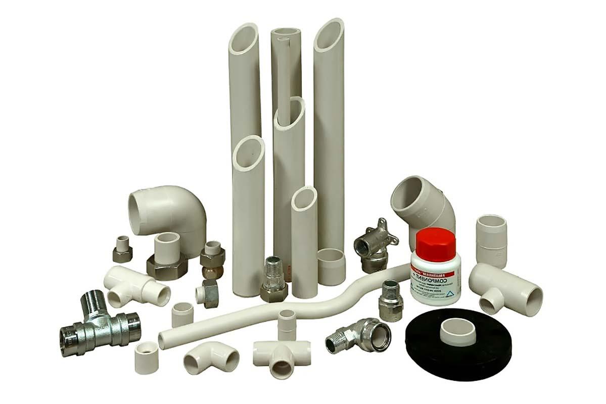 Трубы пластиковые и фитинги