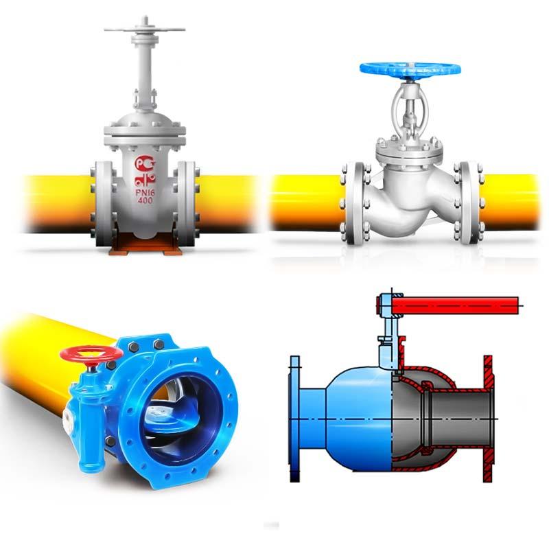 Задвижки газовые виды