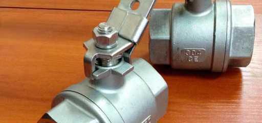 Обзор на шаровой кран из нержавеющей стали