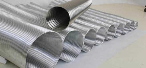 вентиляционные трубы из алюминия